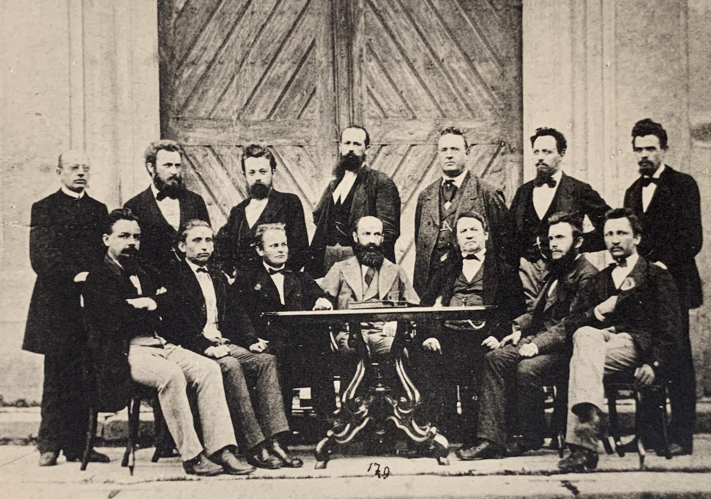 Učitelský sbor v Litomyšli